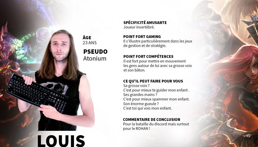 Présentation Louis
